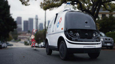 The Noid has returned in Domino's new television ads which capture the pesky antihero trying to thwart the advanced technology of Nuro's R2 robot – a completely autonomous, occupantless on-road vehicle – out on a pizza delivery.