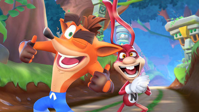 In addition to crashing TV screens, the Noid will join the newest installment of the Crash Bandicoot gaming series, Crash Bandicoot: On the Run! on May 7.