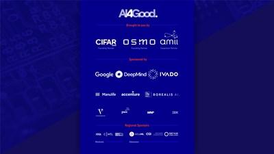 The 2021 CIFAR-OSMO AI4Good Lab partners (CNW Group/AI4Good Lab)