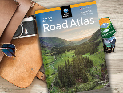 Rand McNally's 98th Edition of the Road Atlas is ready for travel adventures.