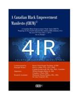 ACBN/GIBBS - A Manifesto offering 15 Innovative Strategies to usher Blacks into empowerment ─the next 50 years (2021 - 2071)