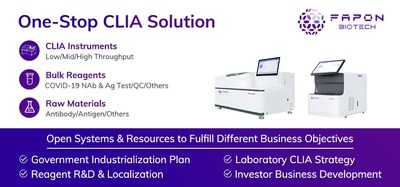 Fapon Biotech One-Stop CLIA Solution