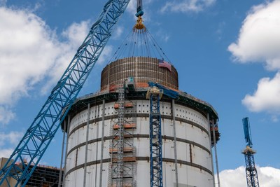 Final module placed for Vogtle 3&4 project