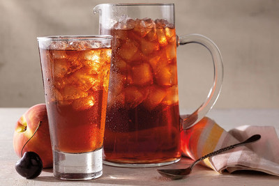 For a limited time only at Cracker Barrel stores nationwide, enjoy freshly brewed iced tea infused with peach, apricot and dark cherry flavors.