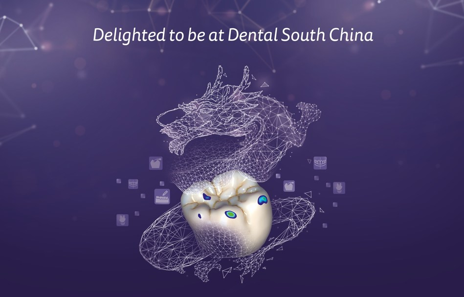 exocad will participate at the 2021 Dental South China (DSC) trade show in Guangzhou (China), taking place from May 10-13, 2021. The dental software company will showcase its newest software release DentalCAD 3.0 Galway at booth C20 in hall 15.1. (PRNewsfoto/exocad GmbH)