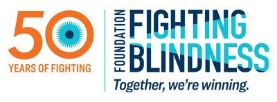 Foundation Fighting Blindness 50th Anniversary logo
