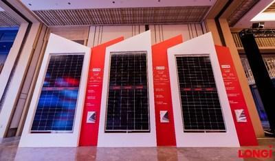 Módulos de série Hi-MO 4m (PRNewsfoto/LONGi Solar)