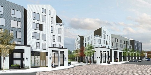Delivering in phases over the coming months, the community's 318 units include a mix of one- two- and three-bedroom apartment homes as well as studios and live-work townhome-style units.