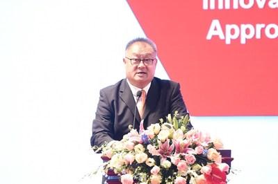 A observação de Chen Yongtao foi centrada em como as empresas e indivíduos da China podem ganhar um novo impulso. (PRNewsfoto/PMI)