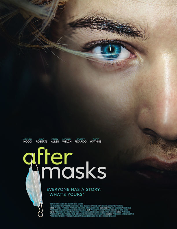 After Masks Movie Anthology Poster with Mitchell Hoog