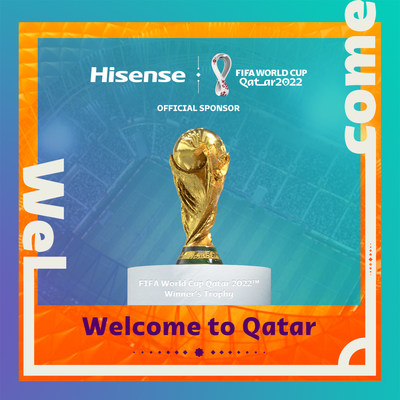Hisense Becomes Official Sponsor of the FIFA World Cup Qatar 2022tm