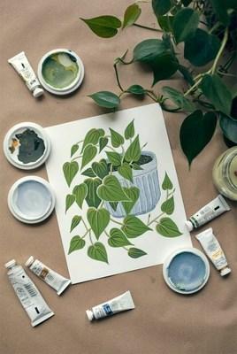 diy art kit (oil painting)