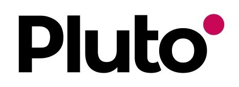 Pluto Logo (PRNewsfoto/Huma)