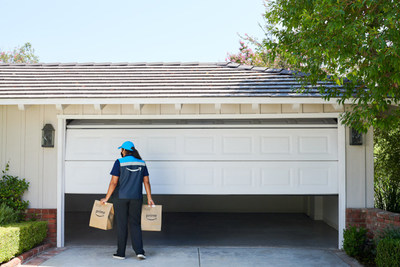 myQ is the first technology to enable Key by Amazon In-Garage Delivery and In-Garage Grocery Delivery.