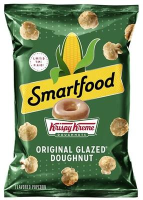 Smartfood® Popcorn And Krispy Kreme® Unveil Iconic Flavor Mashup With Smartfood® Original Glazed Doughnut