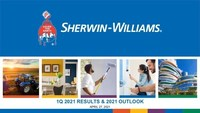 The Sherwin-Williams Company Reports 2021 First Quarter Financial ...