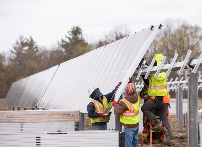 Located in Easton, New York, the Branscomb Solar project was recently recognized as the first utility scale solar project to start final stage of construction in upstate New York.