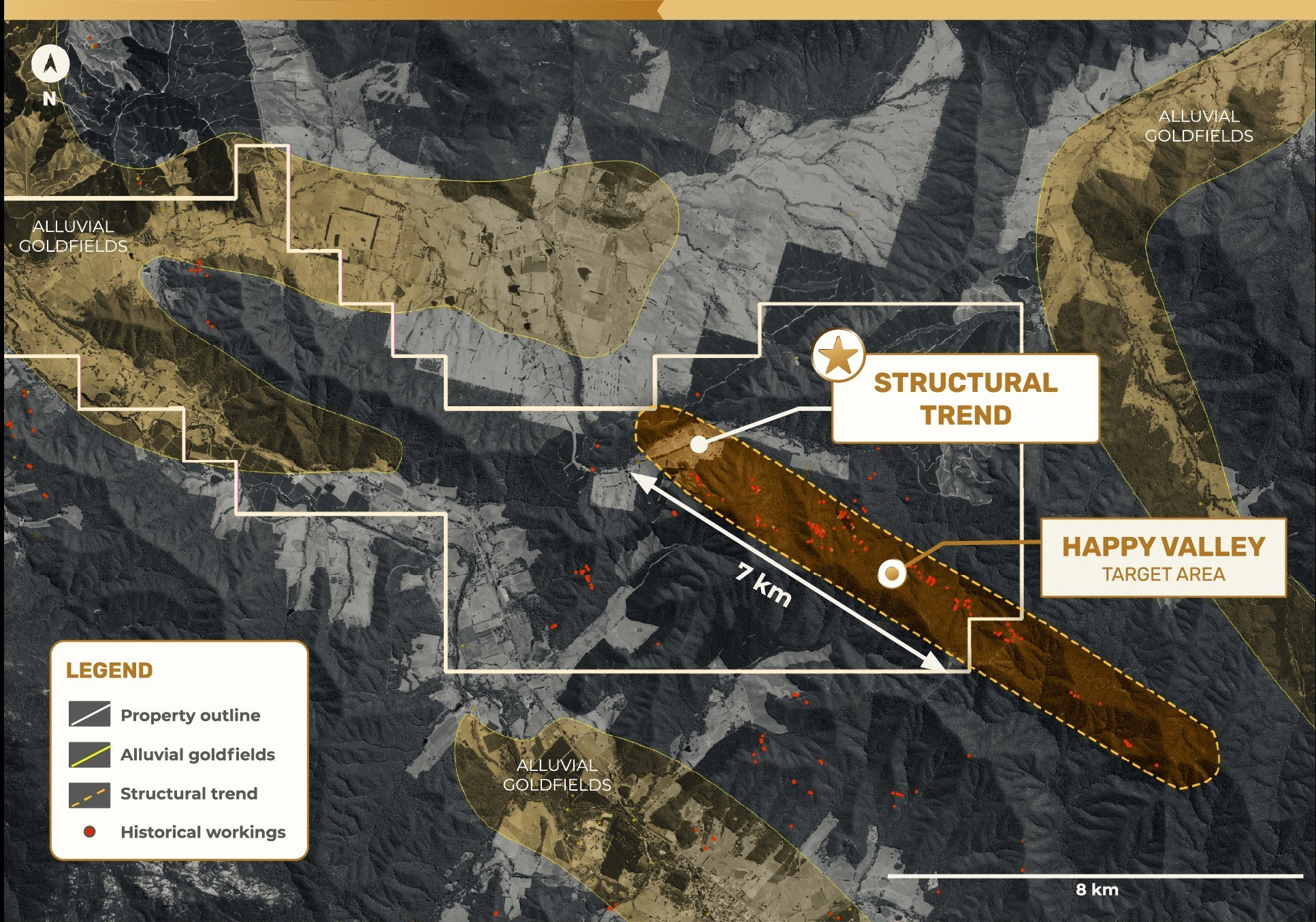 Figure 3 – Happy Valley Mining Center Structural Trend EL006724 (CNW Group/E79 Resources Corp.)