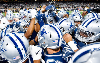 Iconic NFL Team Will Drive Global Brand Awareness and Recovery Technology Innovation