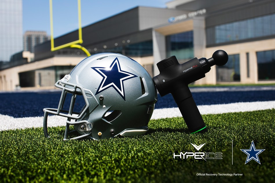Dallas Cowboys Name Hyperice Official Recovery Technology Partner