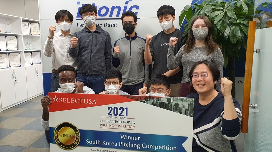 Dtonic selected as Korean representative for SelectUSA Tech pitch competition.
