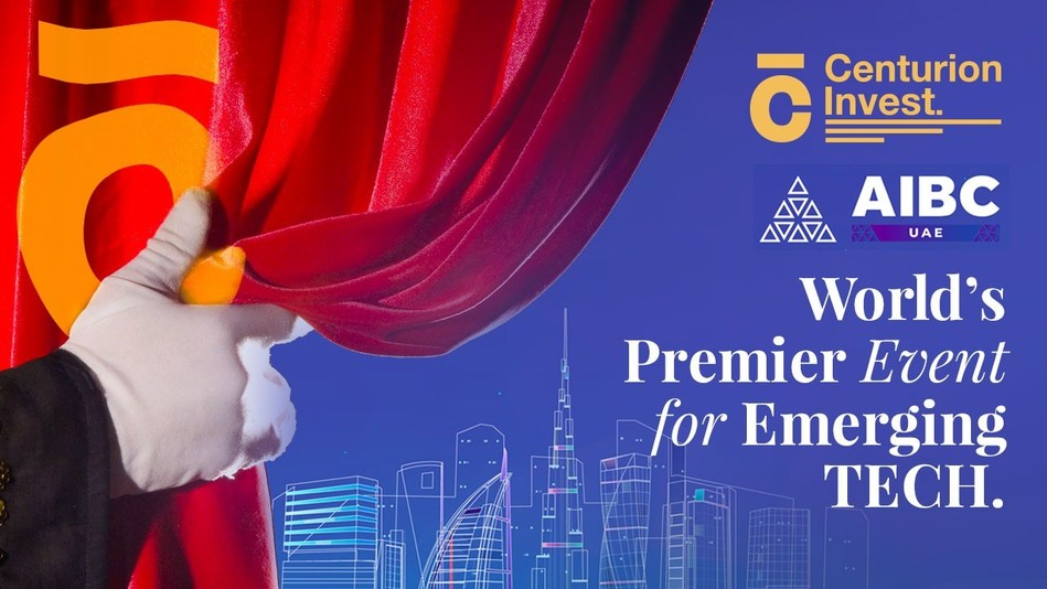Centurion Invest at AIBC Summit 25-26th May Dubai (PRNewsfoto/Centurion Invest)