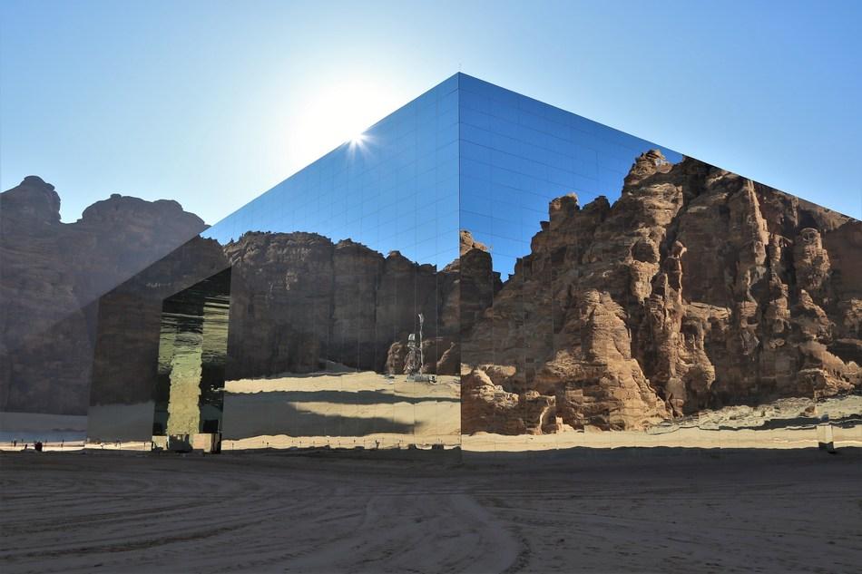 Maraya - multipurposeconcert and entertainment venue in AlUla (PRNewsfoto/Kingdom of Saudi Arabia)