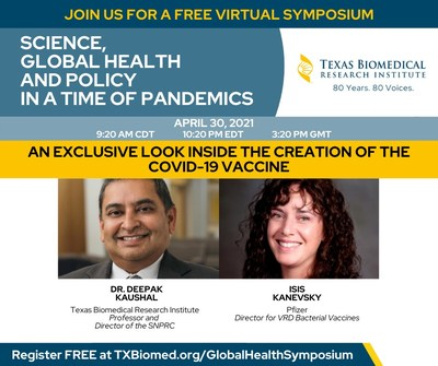 Texas Biomed shares critical work in the development of the Pfizer COVID-19 vaccine.