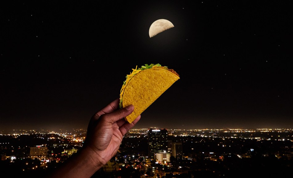 On May 4, the world's largest and brightest object in the night sky will resemble a favorite indulgence, the taco -- a new lunar phase we are affectionately calling the 'Taco Moon.' More than 20 markets around the globe will celebrate Taco Moon, as the U.S.-based brand gives them a reason to try a taco and ultimately experience what Taco Bell fandom is like.