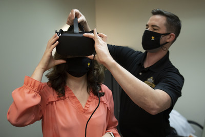 At UCF RESTORES, new virtual reality technology helps treat adults with PTSD.