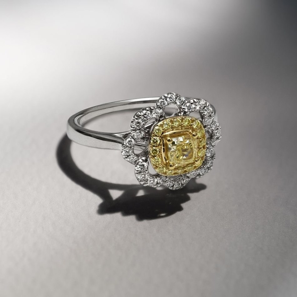 Le Vian 3/4 ct. Sunny Yellow Diamonds® ring at Jared, $2,999.99