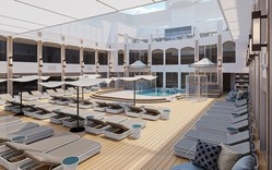 The Haven Courtyard Pool and Sundeck aboard Norwegian Epic will offer The Haven guests a redesigned experience, following its recent renovation.  The 75 suites of The Haven were also reimagined and upgraded, as was The Haven Restaurant, and The Haven Lounge, reaffirming the Company's commitment to elevating the guest experience at sea.