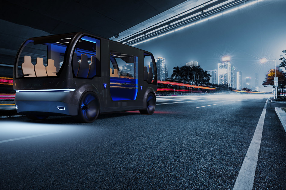 With BENTELER's special platform concept, mobility providers can build people movers in the minibus segment. (PRNewsfoto/BENTELER)