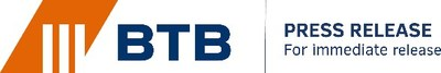 BTB (CNW Group/BTB Real Estate Investment Trust)