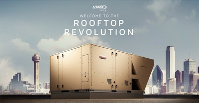 Lennox International unveiled the Model L packaged rooftop line during its commercial product showcase.