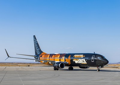 "Alaska Airlines reveals ""Our Commitment"" aircraft in partnership with UNCF"