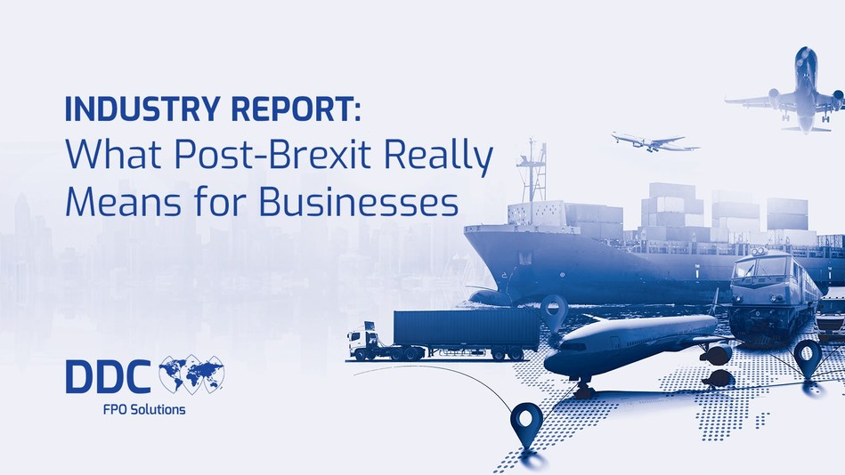 The data in this white paper was compiled from the results of DDC FPO's recently conducted market research survey on Brexit-related challenges.
