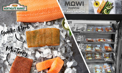 After the great success of Mowi Consumer Products launching the MOWI® Brand in E-commerce in 2020, this salmon brand takes another step in partnership with Northgate Gonzalez Market. The MOWI Essential™ debuts at the Northgate Market grocery chain with 6 SKUs: the core line, and the line extension with unique pre-seasoned cuts. Highlighting delicious flavors like Monterey Style and Garlic Herb with more in development.