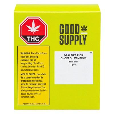 Good Supply Wax (CNW Group/Aphria Inc.)