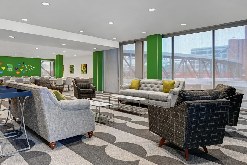 """Titan Development and Ronald McDonald House Charities® of New Mexico have partnered to create the first-ever Ronald McDonald House designed and built for a hotel. The new """"Highlands House"""" is officially opened at the Marriott Springhill Suites at The Highlands, adjacent to Presbyterian Hospital in downtown Albuquerque, New Mexico."""