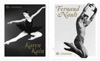 加拿大邮政赞扬两个芭蕾舞的杰出职业