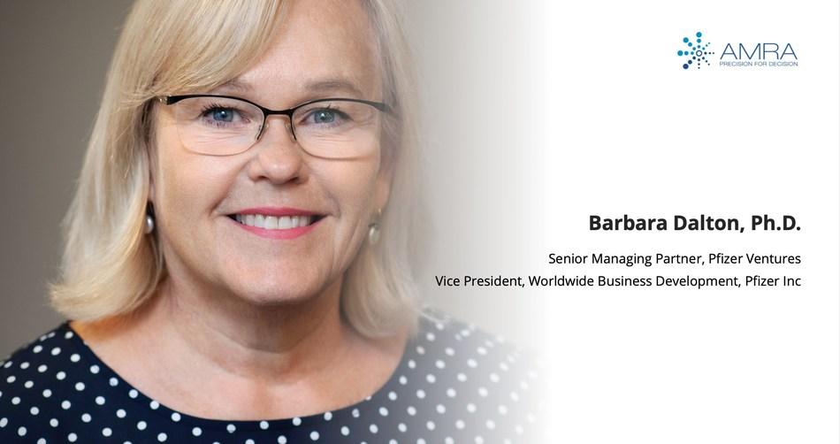 Barbara Dalton, Ph.D. (Pfizer Ventures) joined AMRA Medical's Board of Directors.