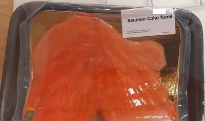 Saumon Coho fumé (Groupe CNW/Ministère de l'Agriculture, des Pêcheries et de l'Alimentation)