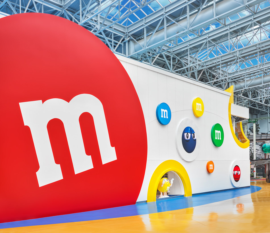 New M&M'S Store Opens at Mall of America