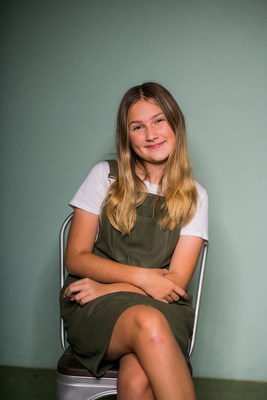 Ruby Kate Chitsey earned a scholarship for learning about a problem and working toward a solution.