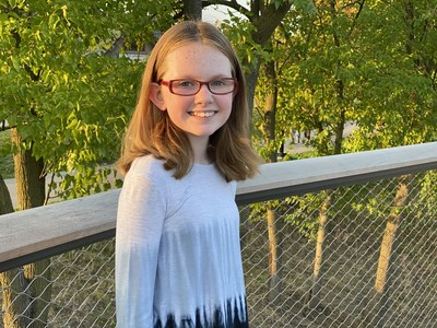 Samantha Vance earned a scholarship for learning about a problem and working toward a solution.