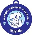 Le Projet un abri pour chaque ami de ROYALE est de retour pour aider un nombre encore plus grand de refuges pour animaux canadiens