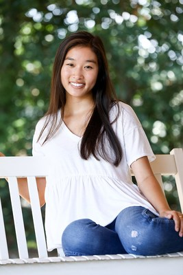 Katie Chai earned a scholarship for learning about a problem and working toward a solution.