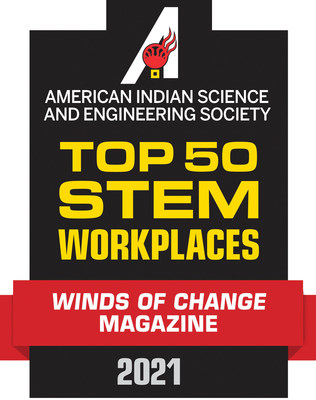 The editors of Winds of Change magazine have selected Stellantis to the publication's annual list of top companies providing career opportunities for Indigenous STEM professionals in North America.