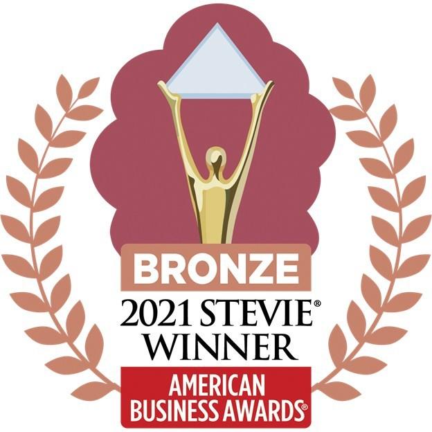 2021 Bronze Stevie Winner